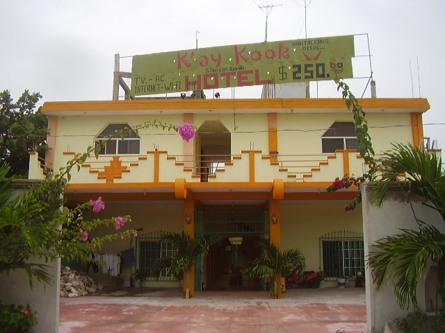 K'ay Kook hotel in Barrio 55.