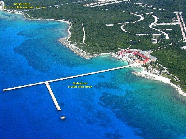 Costa Maya Port.