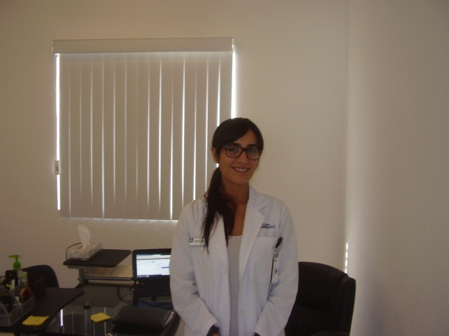 My doctor at CostaMed, Dr. Karla Velaquez.