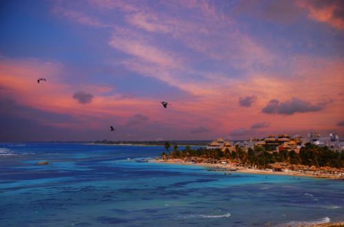 Mexican Caribbean. Mahahual.