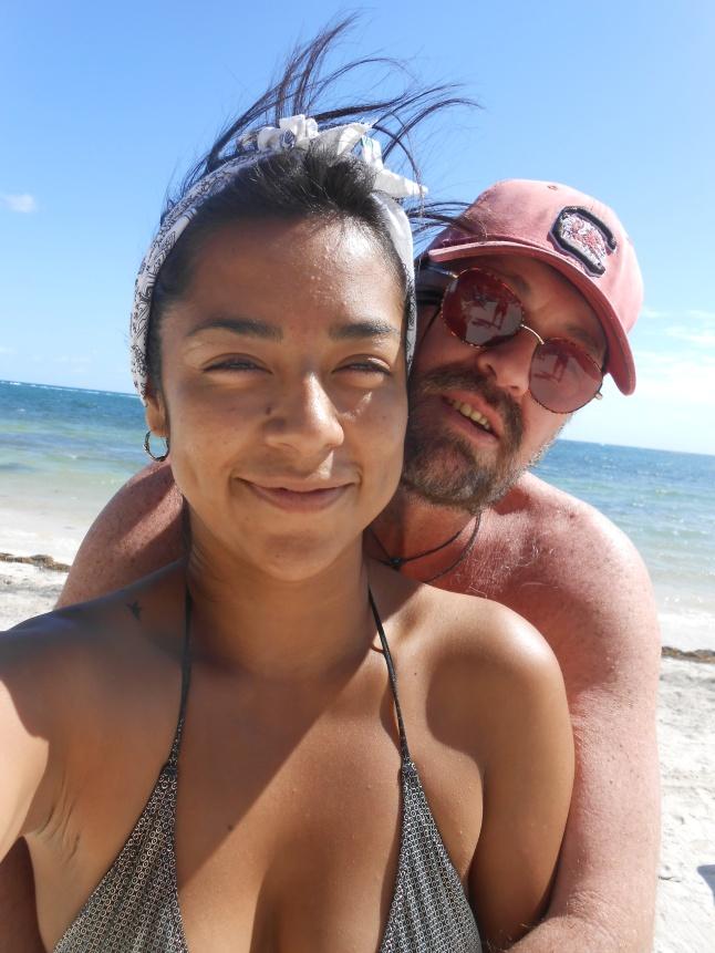 Denisse and I