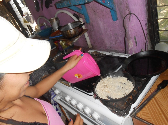 Rice Mayan style