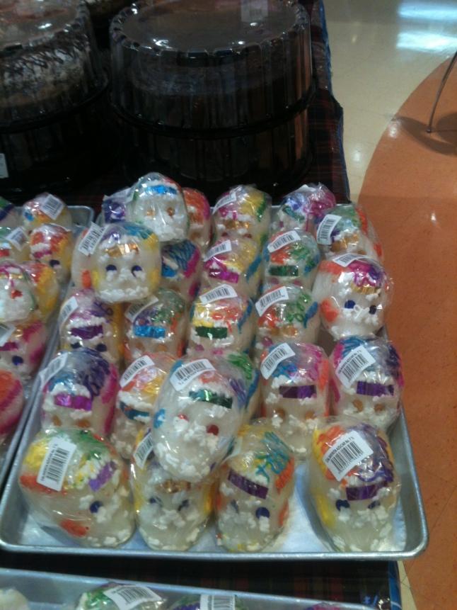 Candy skulls.