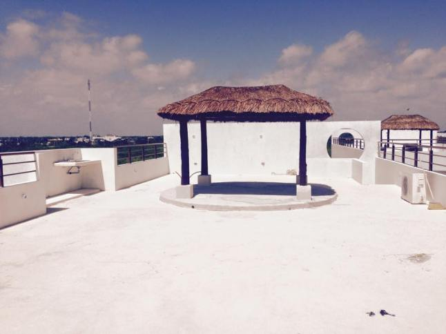 Roof top terrace.