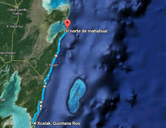 kayla map
