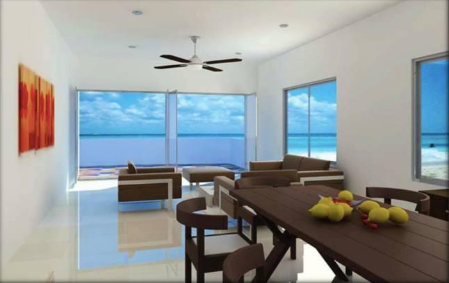 caban condos living room