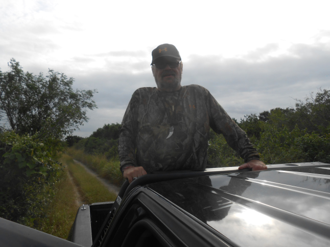 Me enjoying life in Rio Lagartos, Yucatan on bird watching tour to see the flamingos.