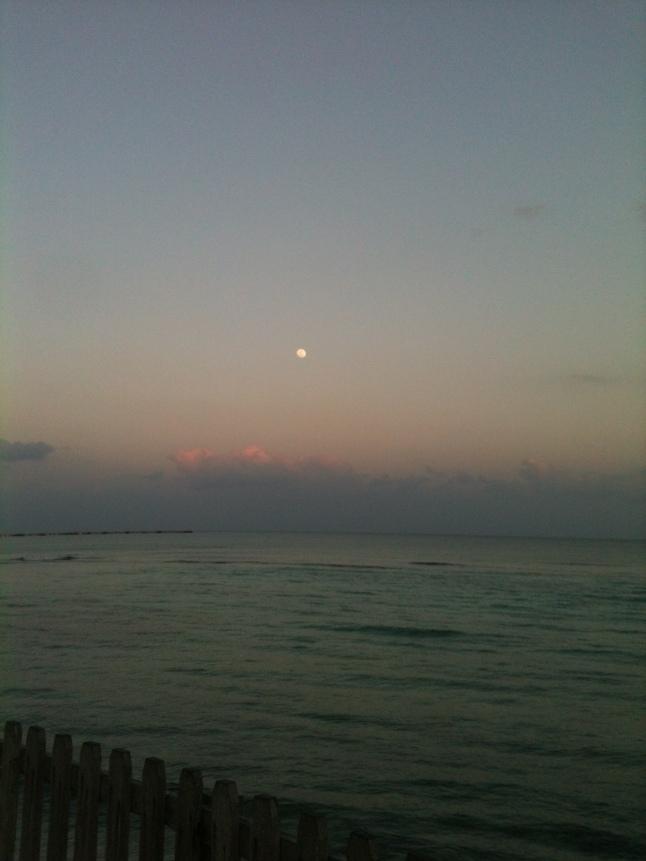 Winter full moon here.