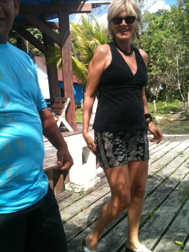 Diane Boissoneault, pen name Lili Gulliver at Bacalar.