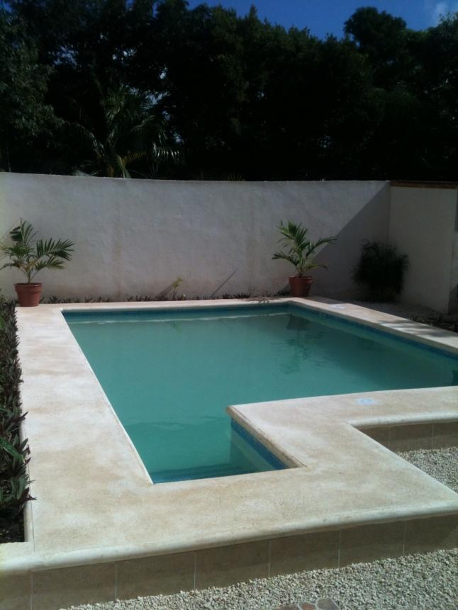 Nice custom pool