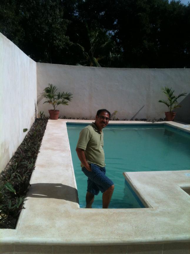 Miguel Angel Garcia, builder of Casa Mia.
