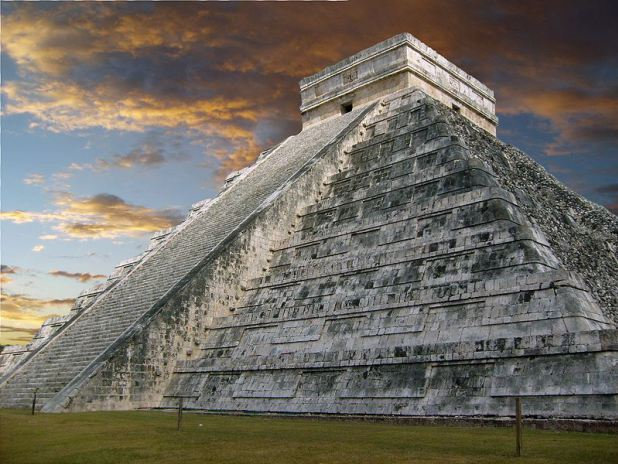 Chichen Itza in the Yucatan Peninsula.