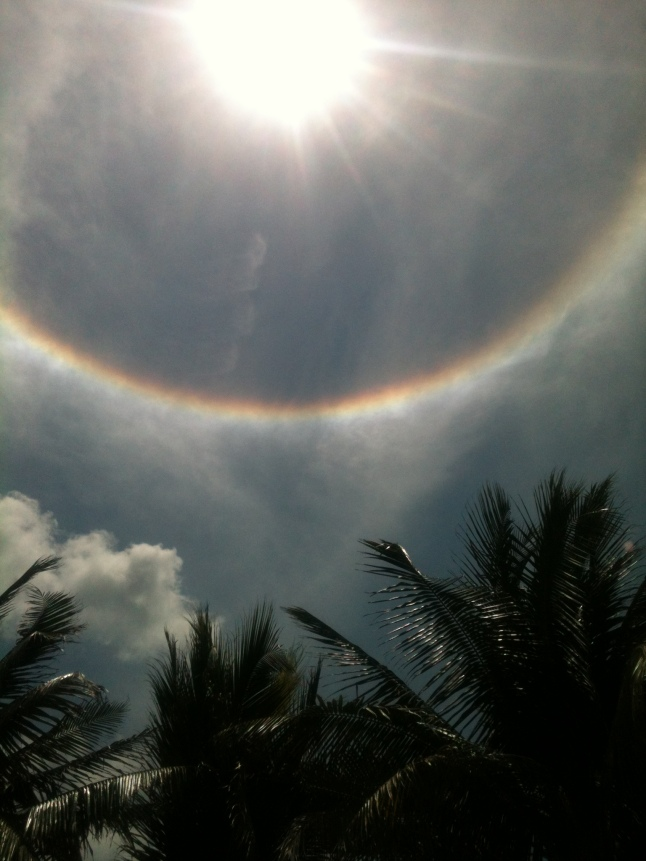 rainbow around sun 010