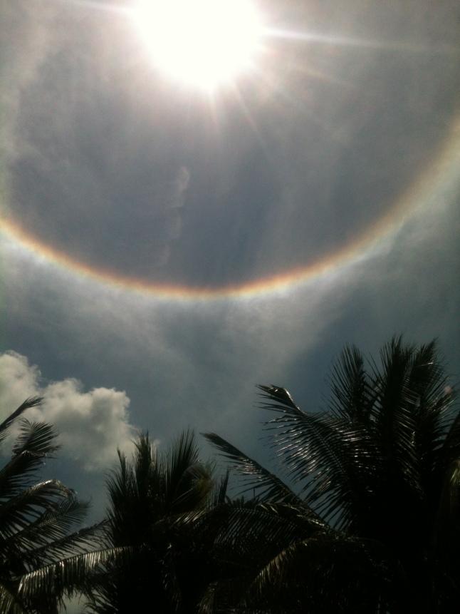 rainbow around sun 010