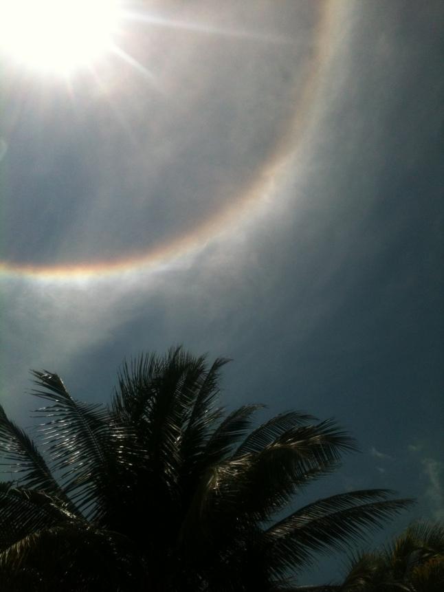 rainbow around sun 012