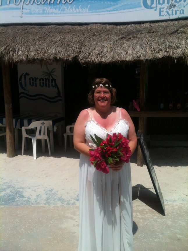 Lynia Ard, bride.