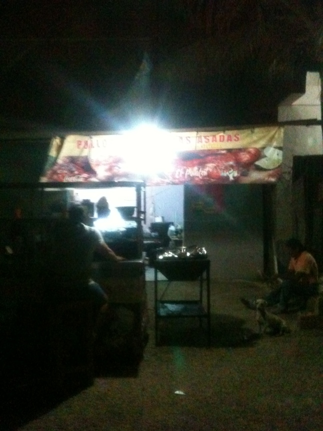 Taco stand in Barrio 55.