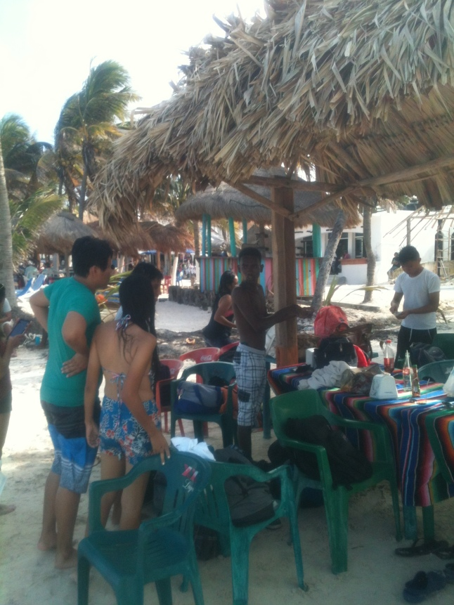 beach and corozal students 019