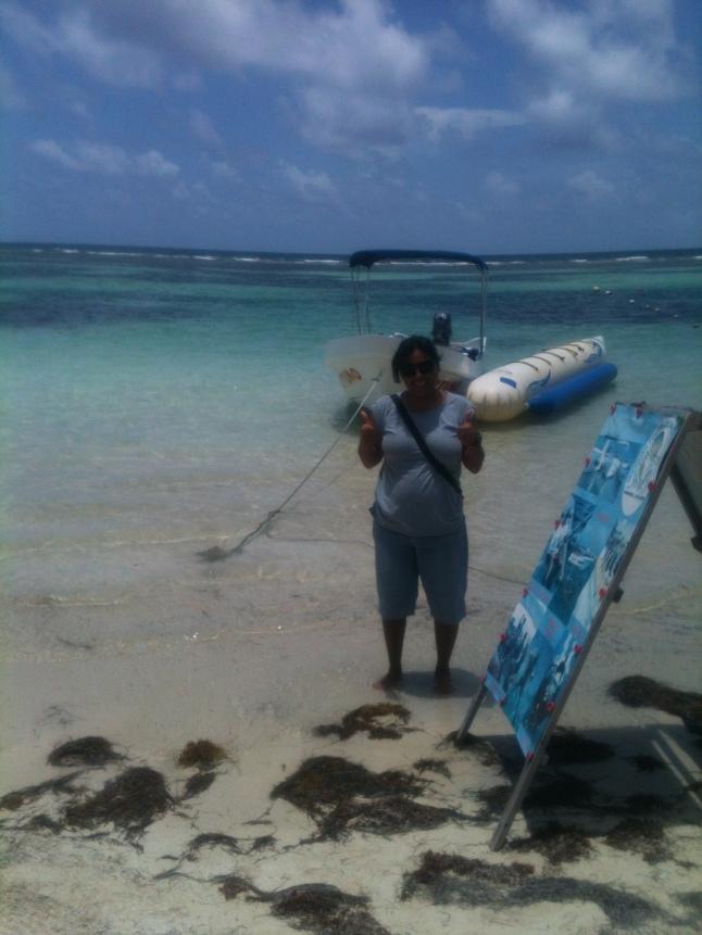 Marineli Balboa Perez owner and operator of Neptuno.
