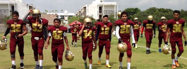 Buhos, (Owls) American football team in Chetumal.