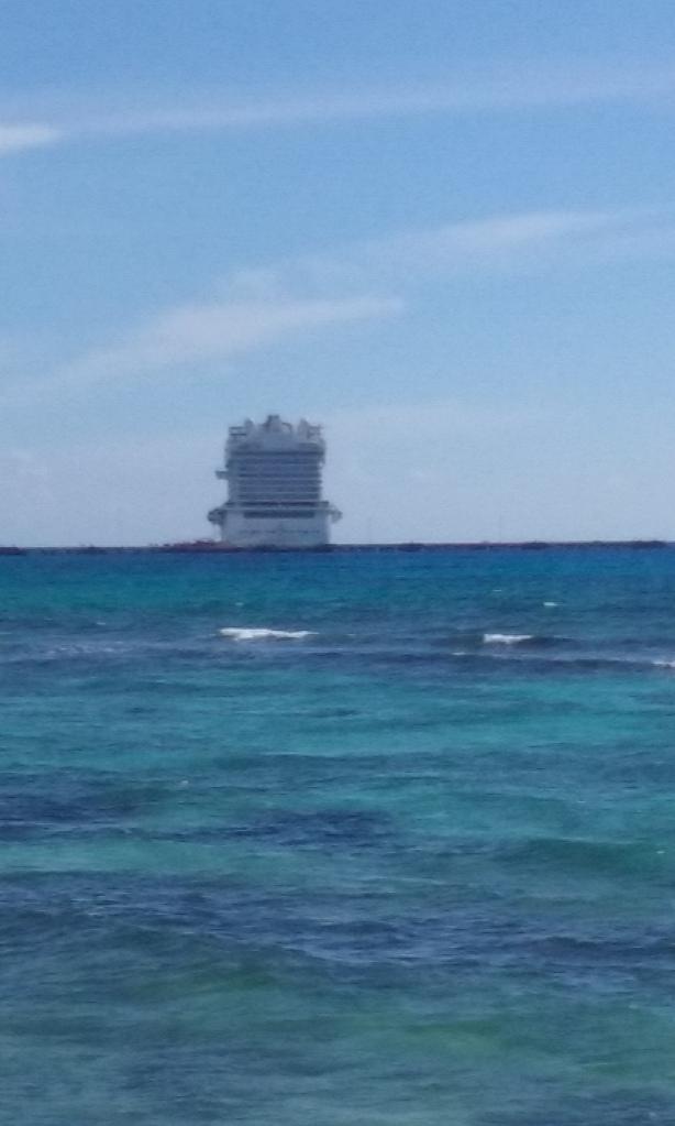 1 ship yesterday.