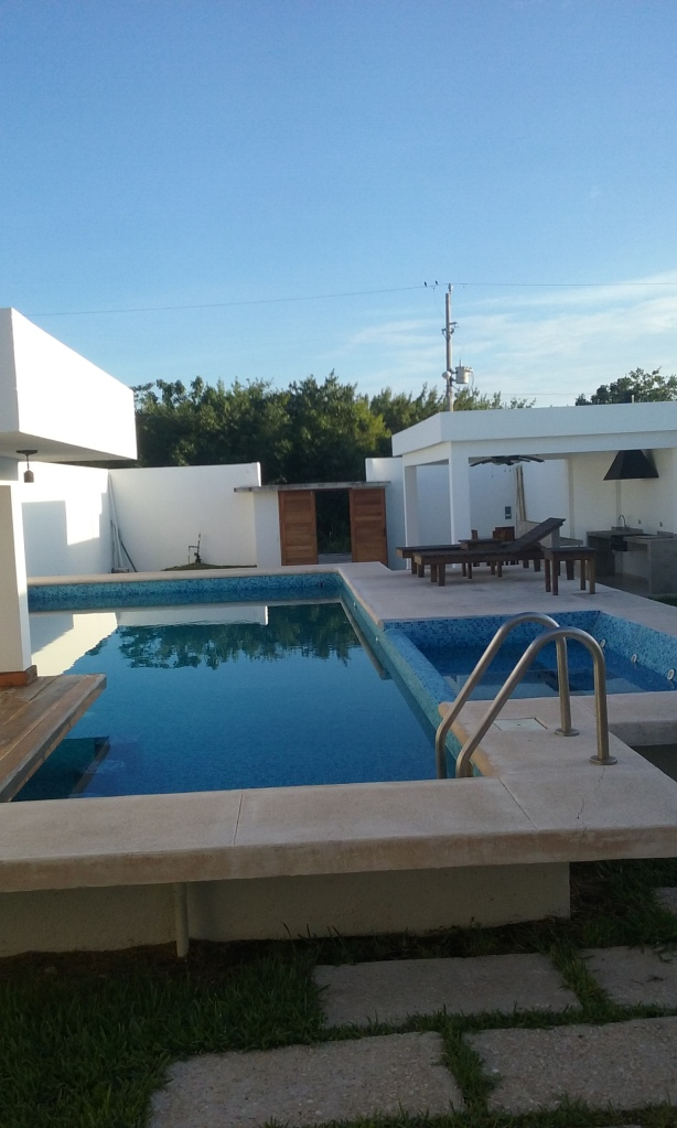 Nice pool and deck, great for parties and BBQs.