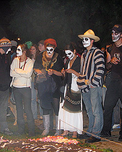 Celebrating Day of the Dead Photo credit: Carnaval.com