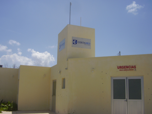 CostaMed clinic in Mahahual.