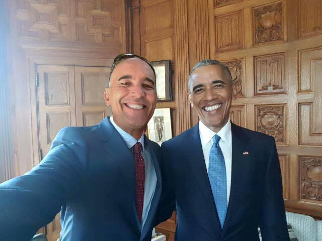 The Republic of Mahahual's ambassador, Luca Molteni, meeting with Barack Obama getting Mahahual recognized as an independent republic.