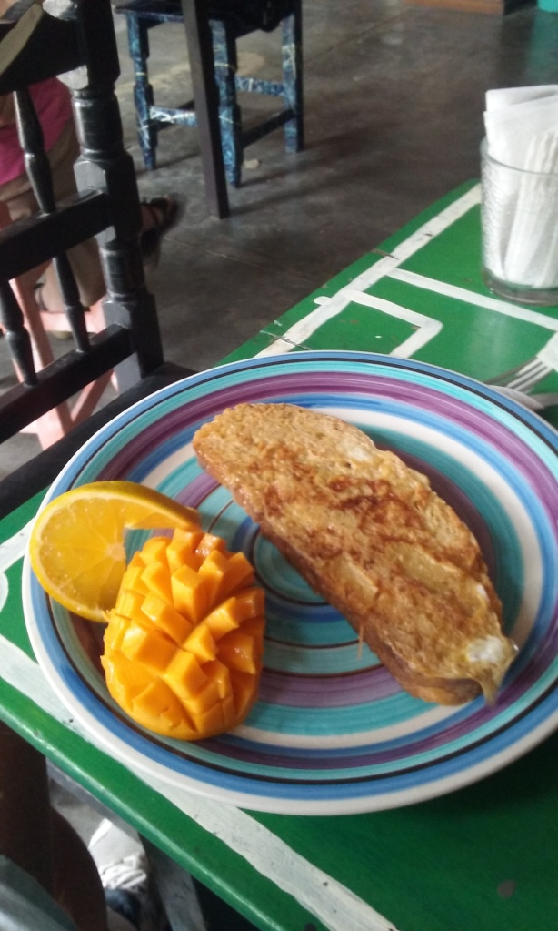 French toast I had, best I have had, since I can remember.